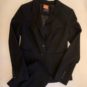 The Limited Black Skirt Suit Blazer